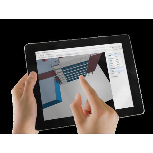 Navisworks-Modell publizieren und in Webbrowser navigieren